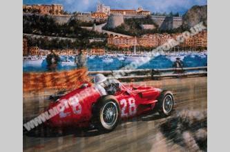 Victory For Moss In Monaco Motorsport Art Collector
